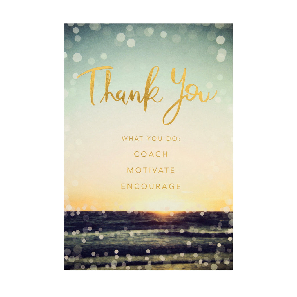 Emotive Thank You Card - Photographic 'State of Kind' Design