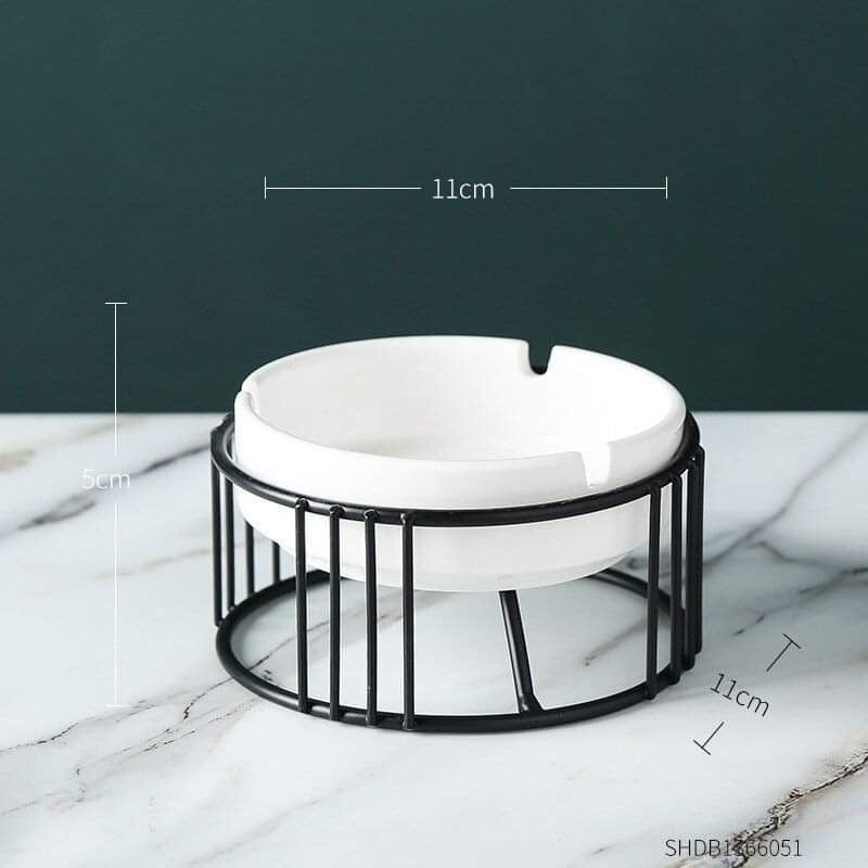 Nordic Iron Ceramic Ashtray