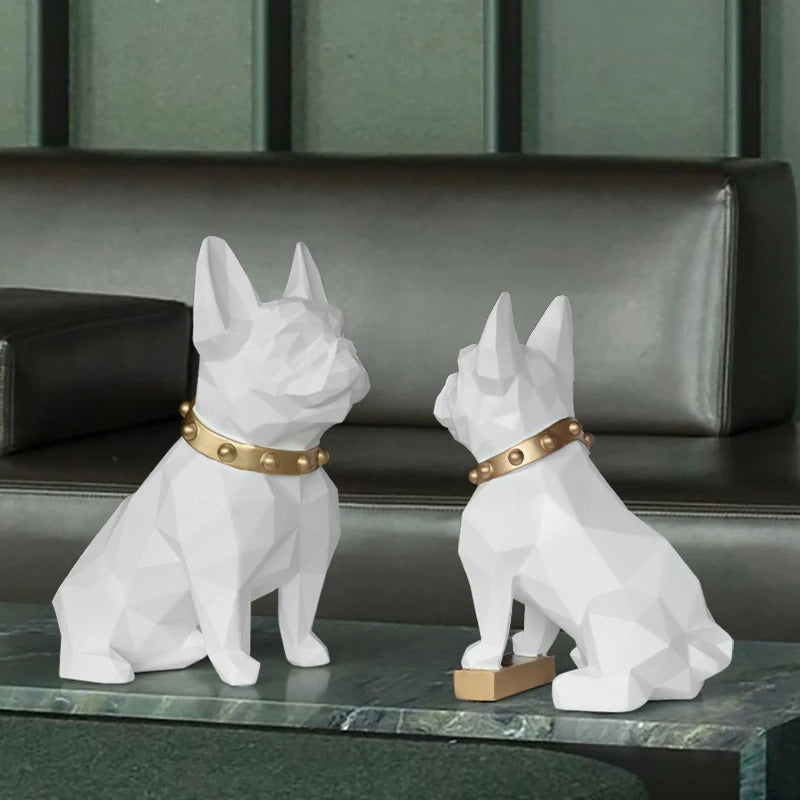 Pitbull Home Figurine