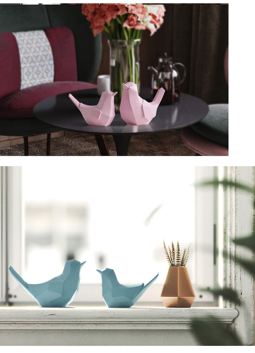 2pcs/set Couple Birds
