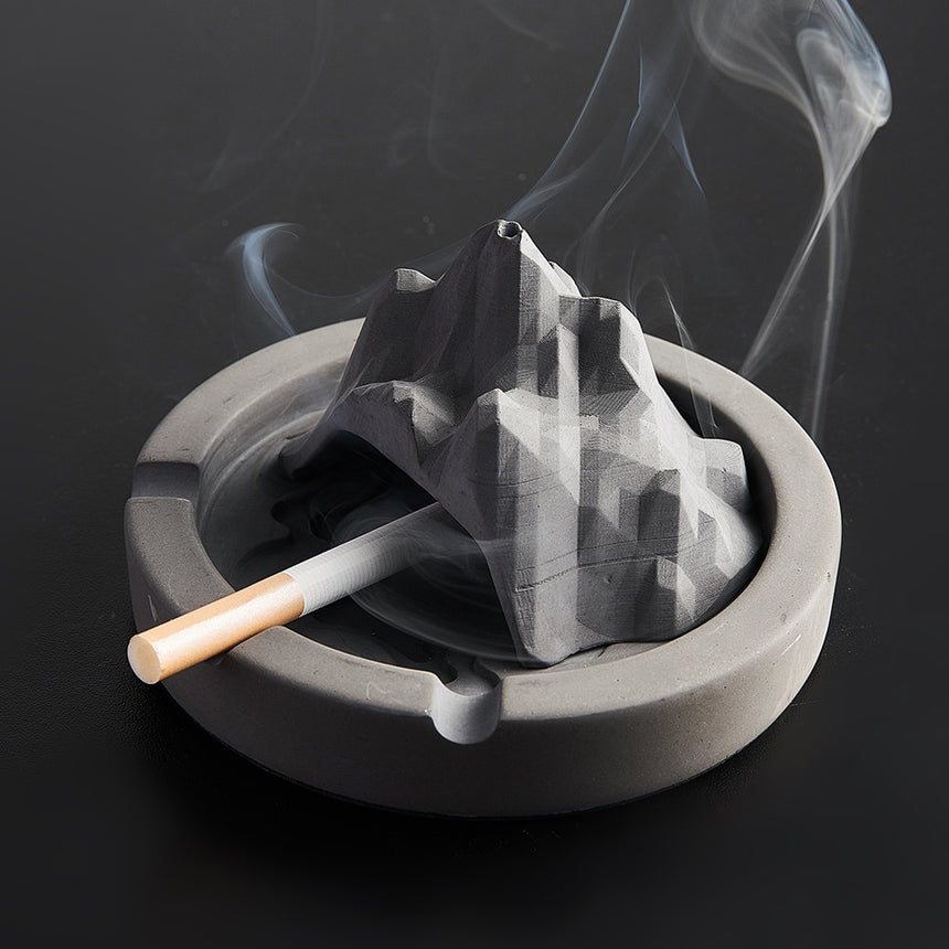 Castle/Mountain Ashtray