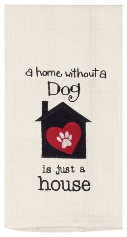 contemporary hand towel houzz product pic funny dog saying