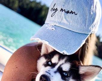 dog mom hat picture etsy