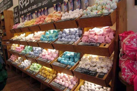 Lush Products Not Packaged