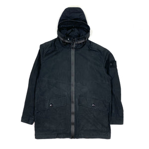 Stone Island Black Ghost Weatherproof Cotton Jacket