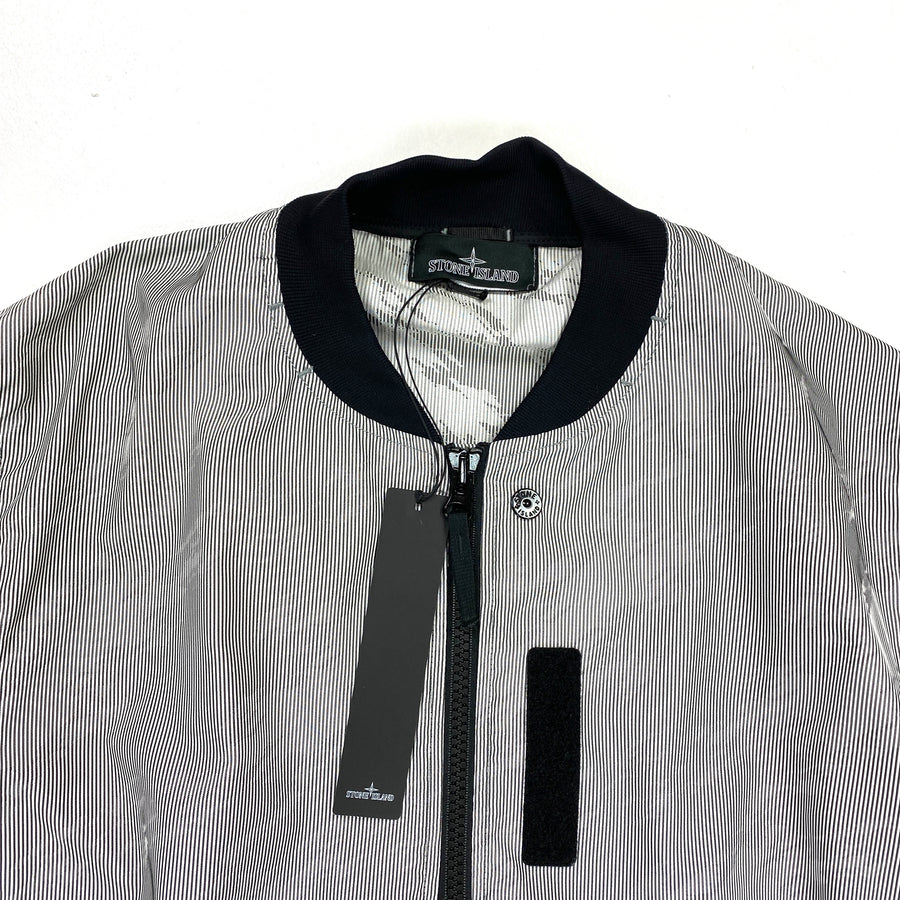 Stone Island Lenticular Jaquard Shadow Project Bomber Jacket