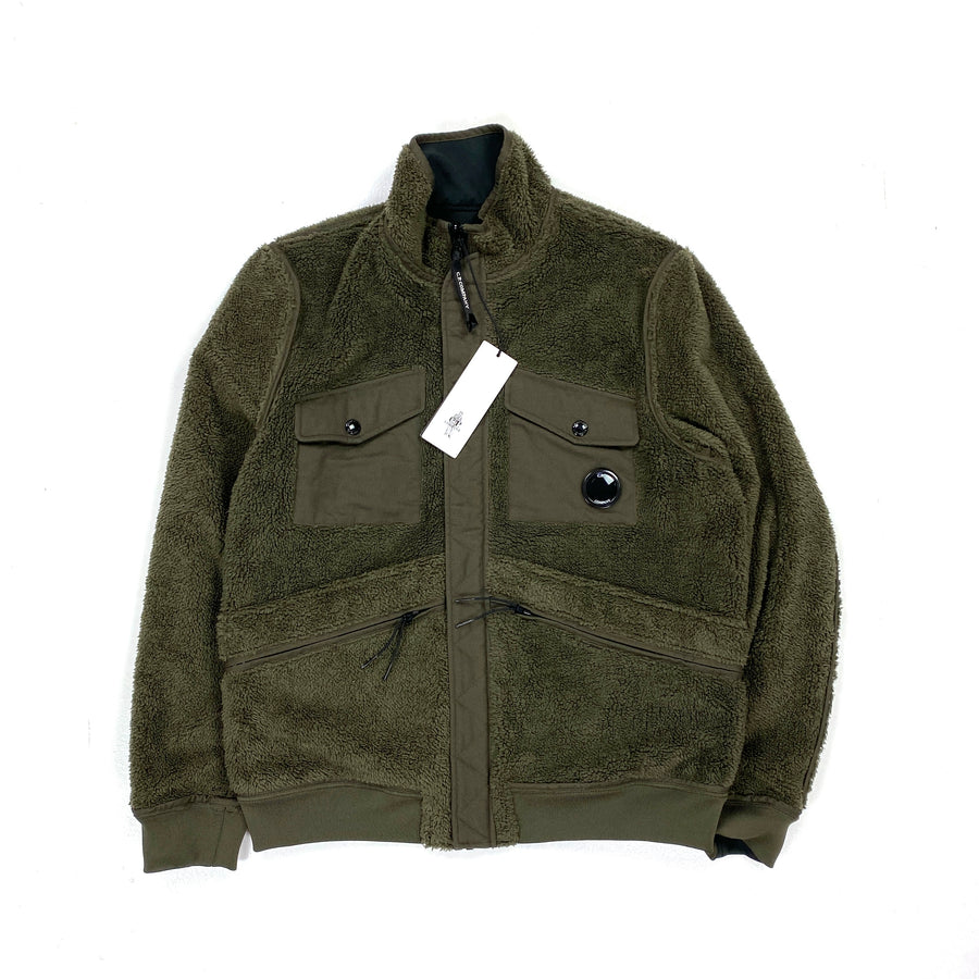 CP Company Reversible Sherling Soft Shell Jacket