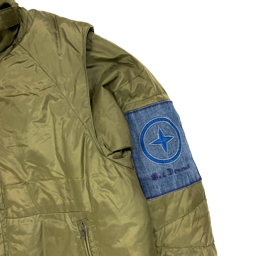 Stone Island 2004 Denims Nylon Padded Jacket