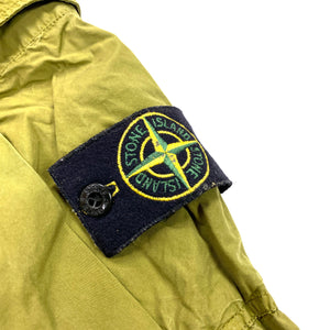 Stone Island Olive Green Tapered Cargo Trousers