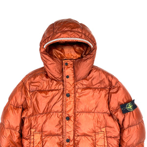 Stone Island 2013 Rust Garment Dyed Puffer Jacket