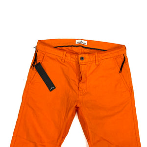 Stone Island Orange Cycling Slim Fit Trousers
