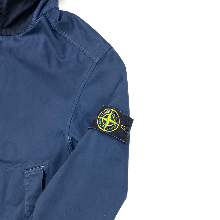 Stone Island Navy David Jersey TC Hooded Jacket