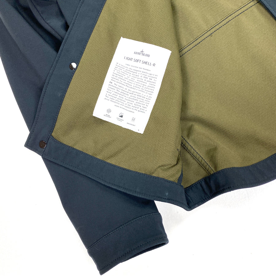 Stone Island Dark Navy 2014 Soft Shell R Jacket