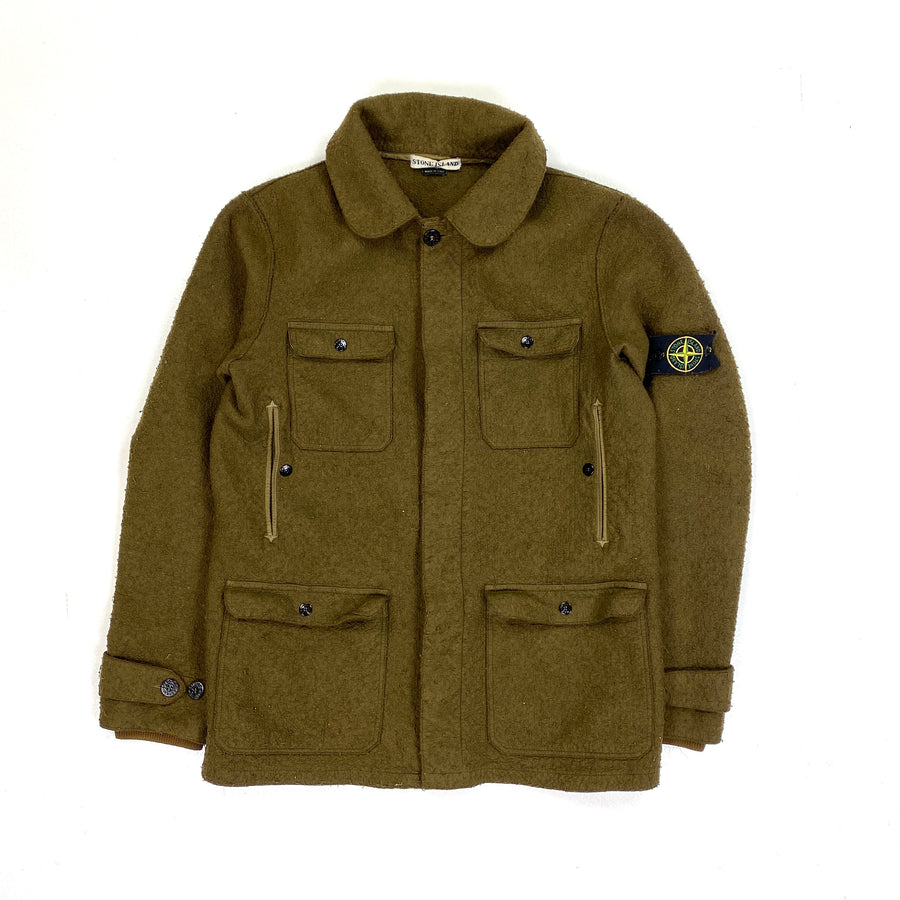Stone Island 2004 Wool 4 Pocket Jacket