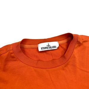 Stone Island AW/20 Orange Longsleeve Top