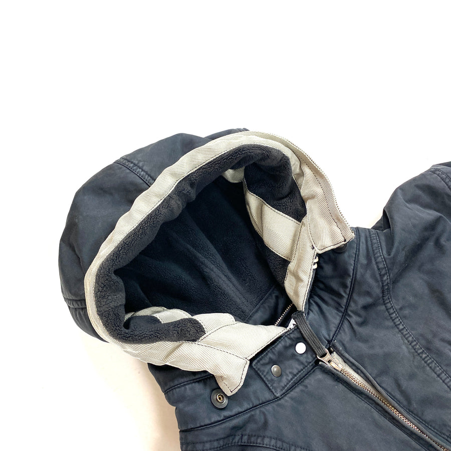 Stone Island Raso Gommata Fleece Lined Jacket