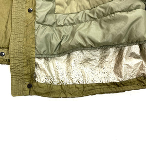 CP Company Olive Nyfoil Down Filled Fishtail Parka