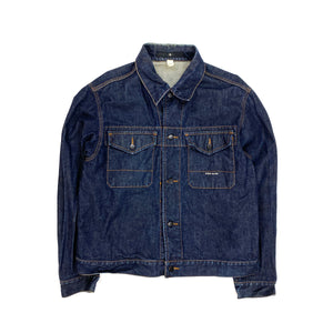 Stone Island Thick Italian Denim Cotton Jacket