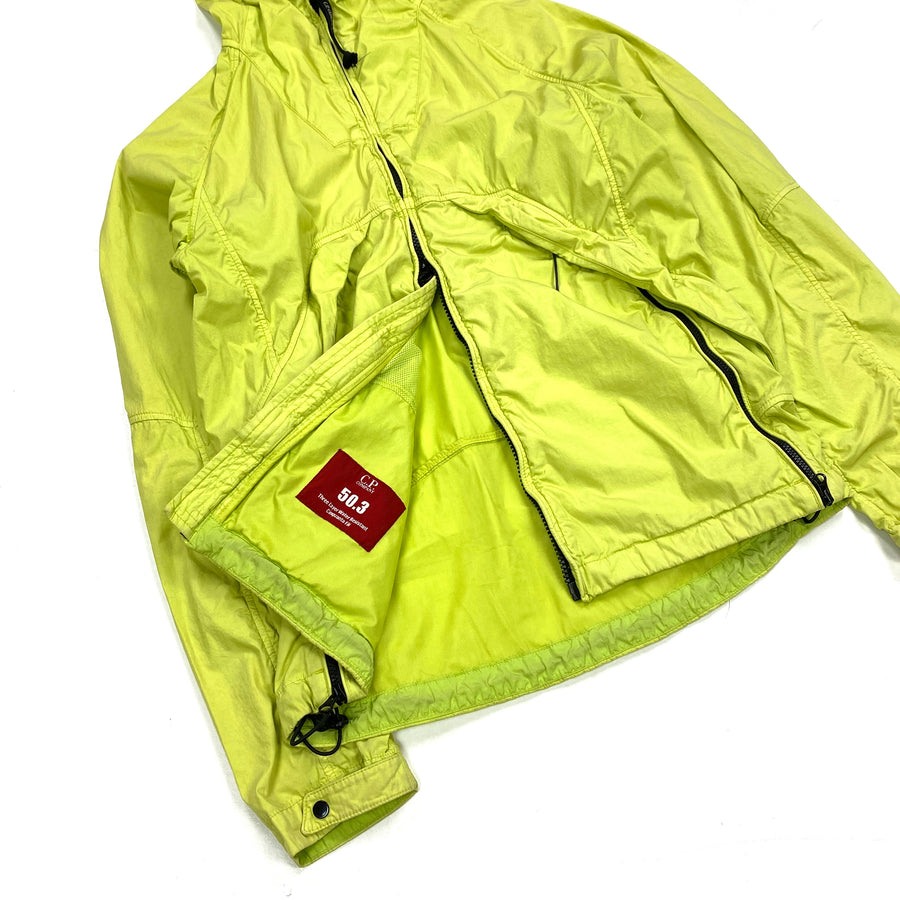 CP Company Lime Green 50.3 Goggle Jacket