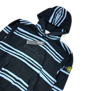 Stone Island x Supreme Striped Pullover Hoodie