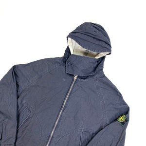 Stone Island 1999 Vintage Hooded Cotton Jacket