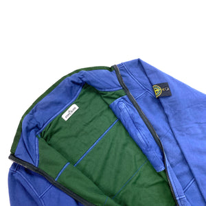 Stone Island SS/2012 Blue Mesh Lined Cotton Jacket