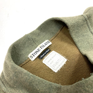 Stone Island Vintage AW2000 Wool Mock Neck Jumper