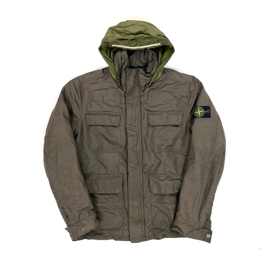 Stone Island Brown David OVD Field Jacket