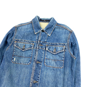 Stone Island Denims Light Wash Denim Jacket