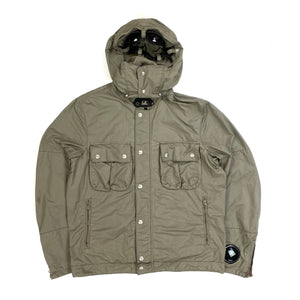 CP Company Olive Sunglasses Hooded Jacket