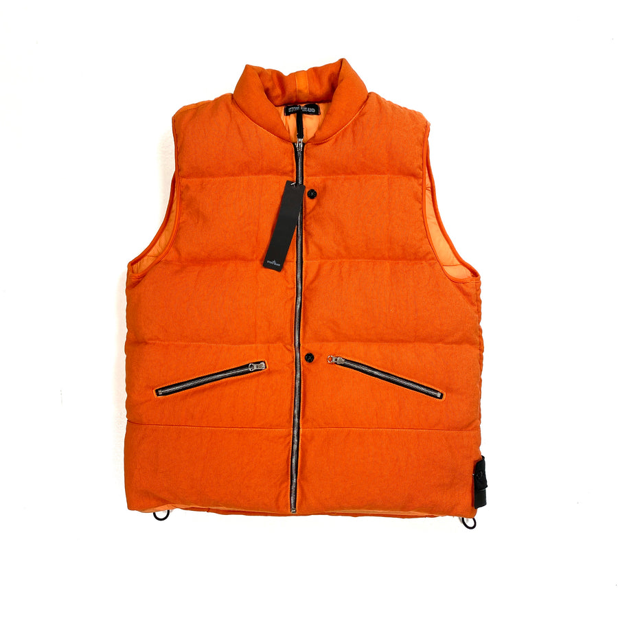 Stone Island Orange Shadow Project Down Filled Jacket