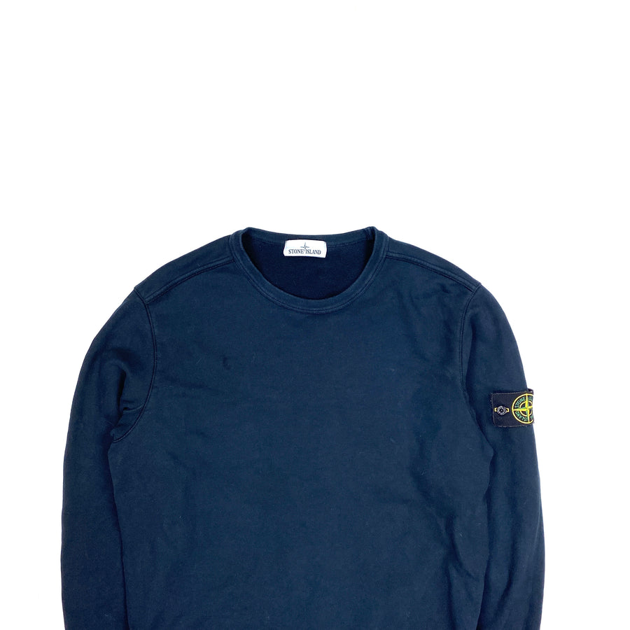 Stone Island Navy 2018 Cotton Crewneck Jumper