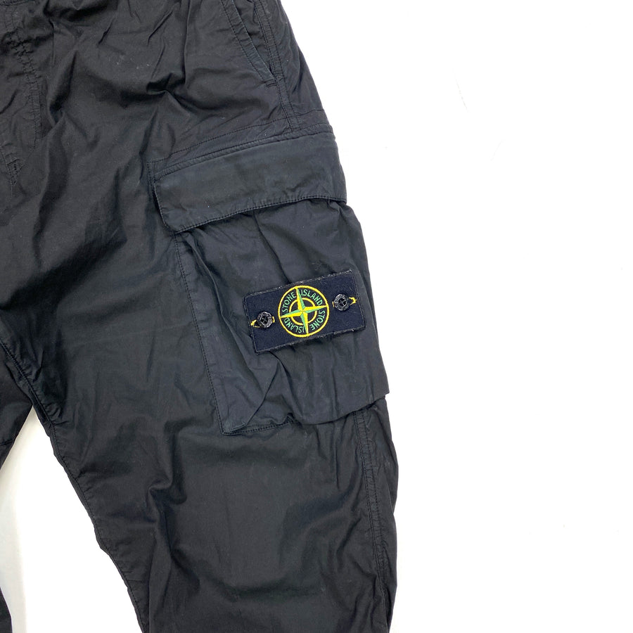 Stone Island Parachute Cotton Tapered Cargo Trousers