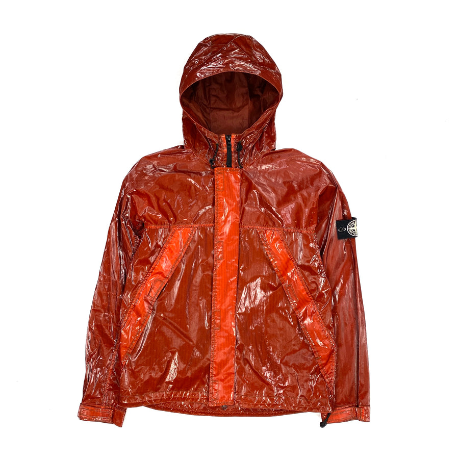 Stone Island Red Prismatica Hooded Jacket