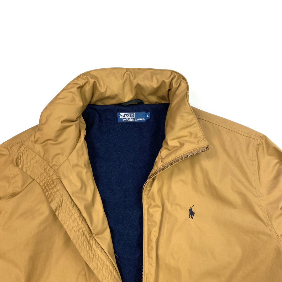 Ralph Lauren Sand Fleece Lined Harrington Jacket