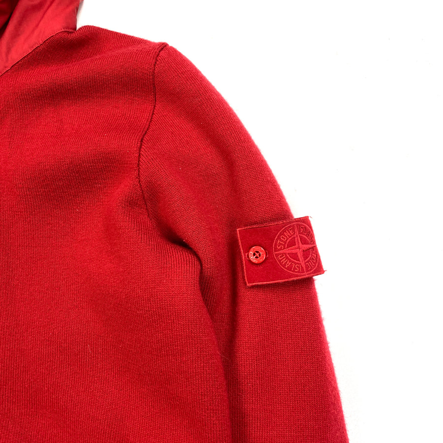 Stone Island 2013 Red President Ghost Knit Jacket