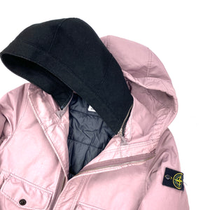 Stone Island Dusty Pink David TC Primaloft Lined Hooded Jacket