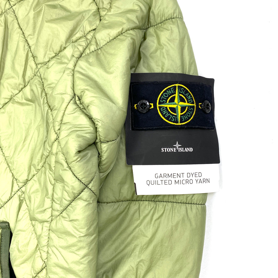 Stone Island 2019 Micro Yarn Quilted Jacket