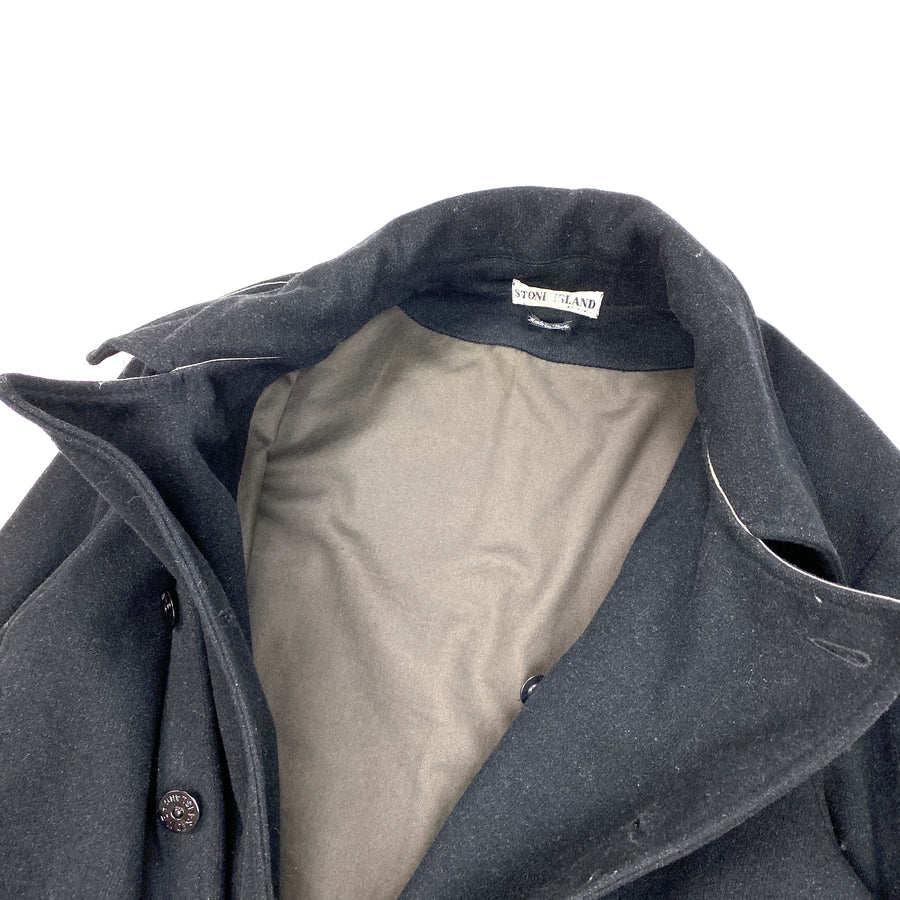 Stone Island Vintage Thick Wool Duffle Jacket