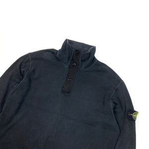Stone Island 2002 Pullover Navy High Neck Jumper