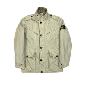Stone Island Beige 2009 David TC Quilted Jacket
