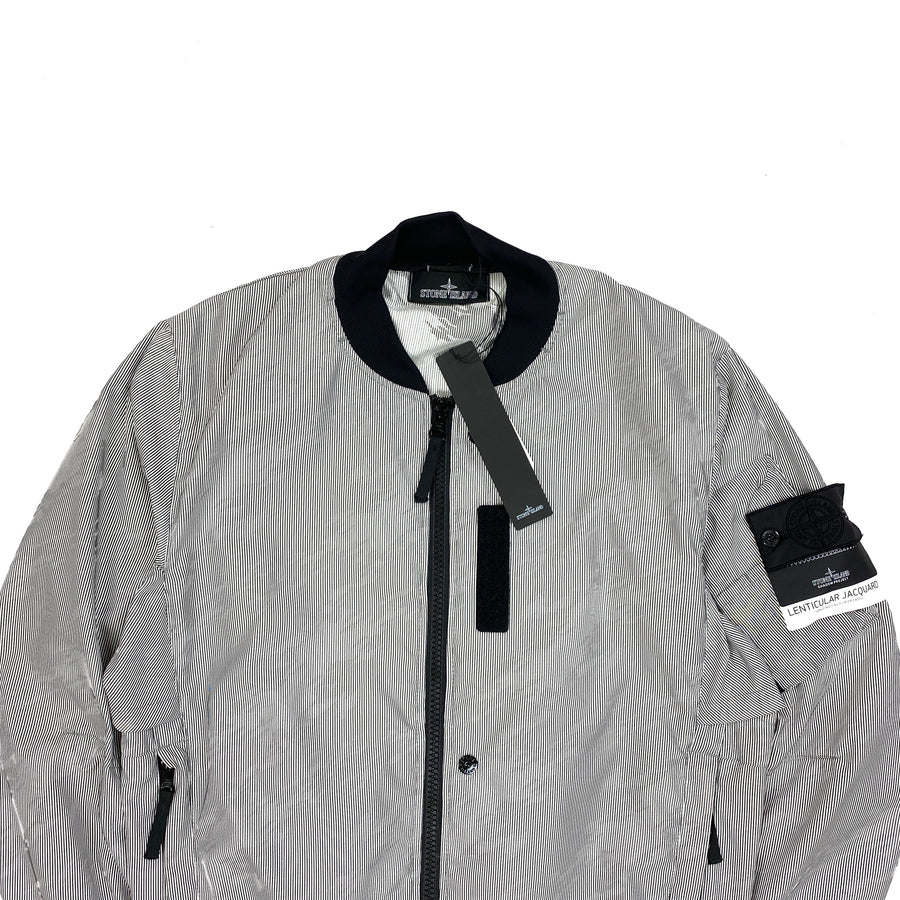 Stone Island Shadow Project Lenticular Jaquard Bomber Jacket