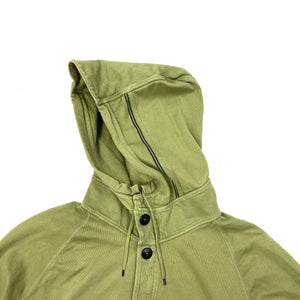 Stone Island Olive Green Pullover Hoodie