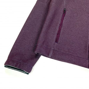 CP COMPANY AUBERGINE TECH FLEECE JACKET