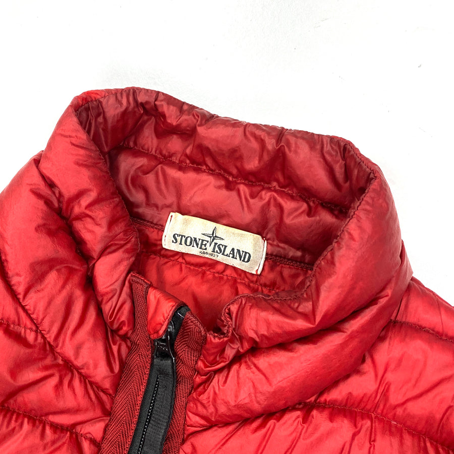 Stone Island AW/2016 Red Down Filled Puffer Jacket