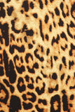 Leopard Print Body Suit
