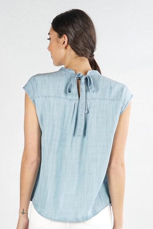 Tencel Yoke Top