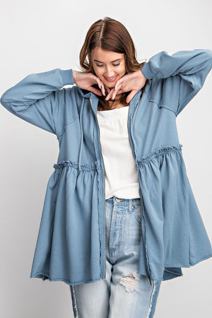 Weekend Ruffle Jacket