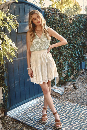 Eyelet Lace Country Mini