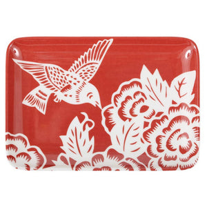 Aviary Hummingbird Soap Dish/Tray